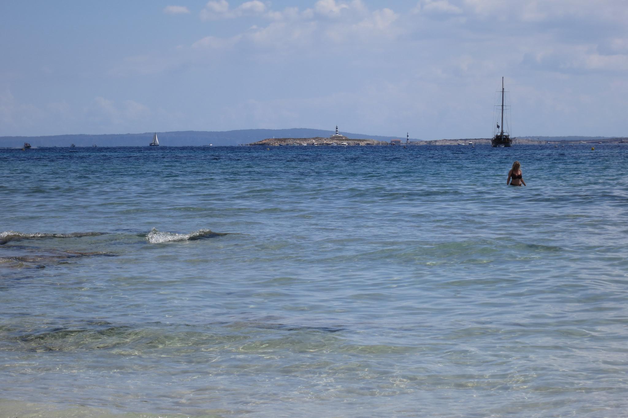 Ocean Beach Ibiza Photos