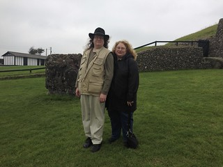 Us at Newgrange