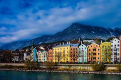 Facades of Innsbruck