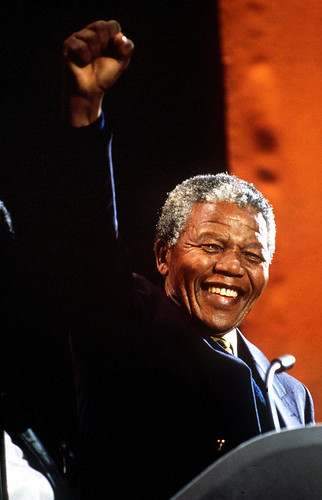 Former president Nelson Rolihlahla Mandela by South African Tourism