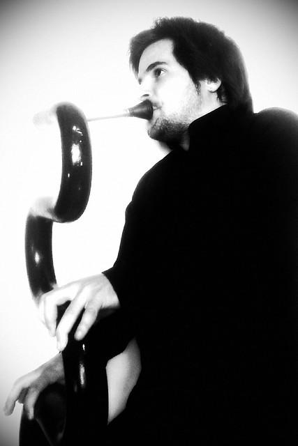 Oscar Abella Serpent Instrument