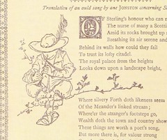 "British Library digitised image from page 18 of ""Officiale handboke of ye Strivelin Fancye Fayre. Maister Upland Tarn (J. E. H. Thomson) ye romauntmaker, Maister Drekab (Leonard Baker) ye drawing-man"""