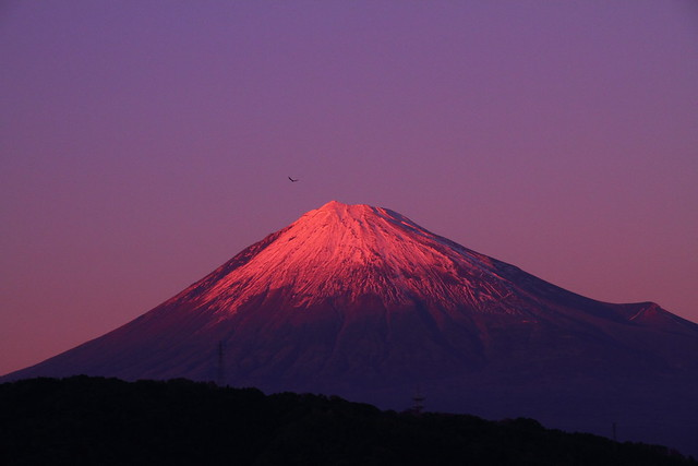 Red Mt. Fuji