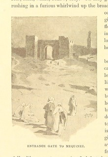 Image taken from page 196 of 'Among the Moors. Sketches of Oriental life. [With illustrations.] F.P'