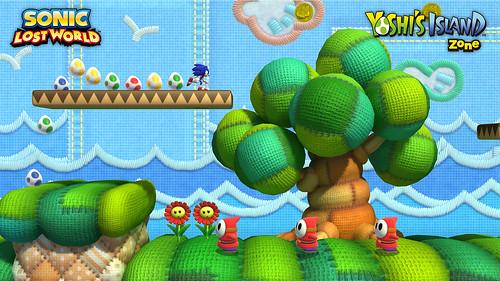 Sonic Lost World Yoshi's Island DLC