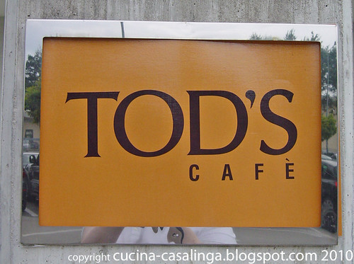 Tods Cafe Eingang