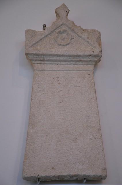Hellenistic stele, Archaeological museum Narona, Vid, Croatia