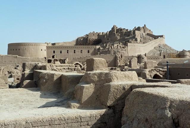 Foto panorámica de Bam (Irán) 10 años después del terremoto