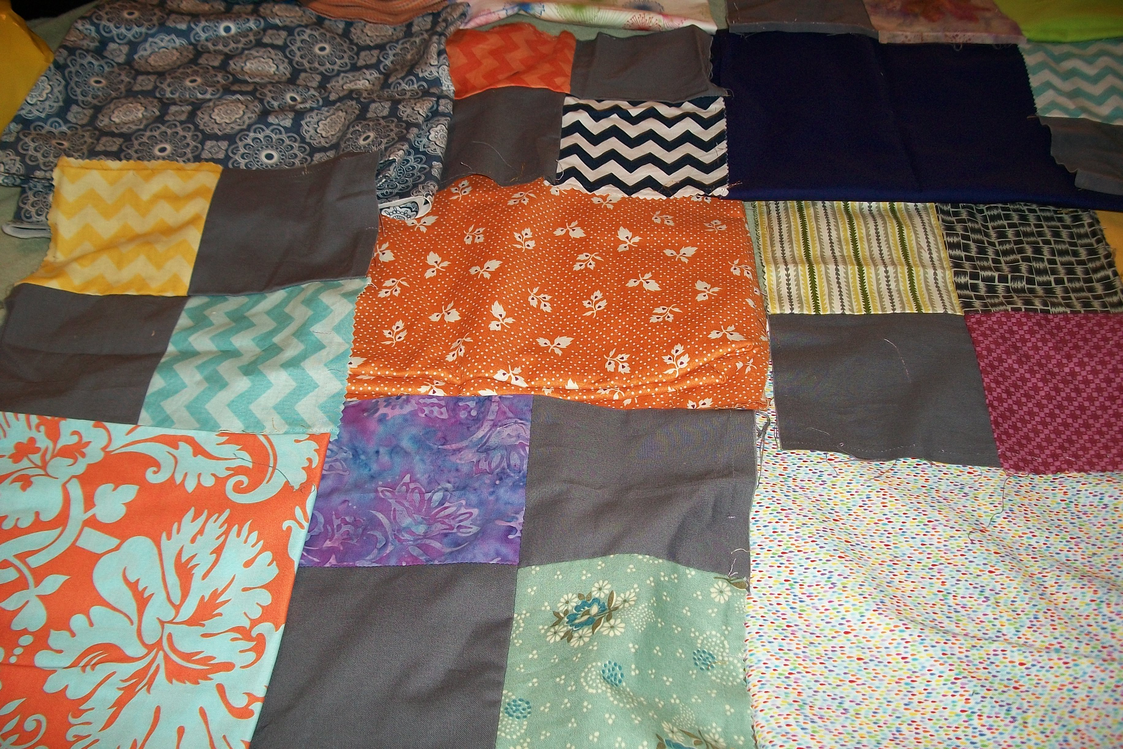 next idea for the trouble quilt