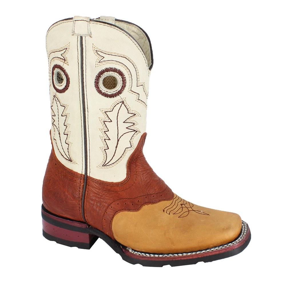 06e8e655a96 BA-3000 Tan - Bonanza Rodeo Boots - Kids | BA-3000 Tan - Bon… | Flickr