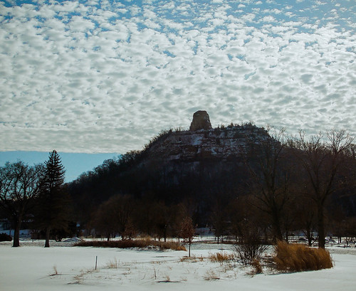 winter sky snow weather minnesota clouds landscape midwest scenery scenic bluffs winona bluffland