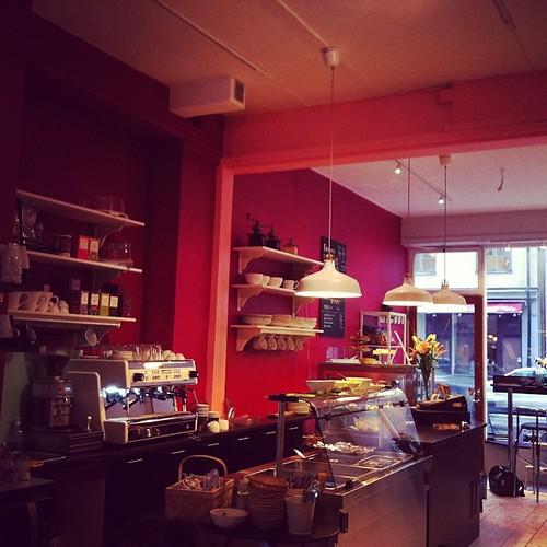 Tips! Nya restaurangen Betan på Linnégatan 16 är riktigt fin! #vadveganeräter