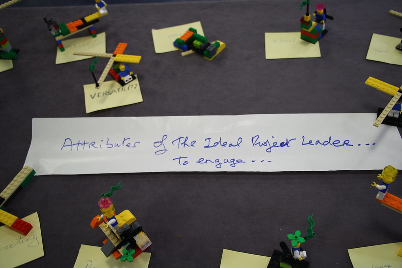 Results on Lego Serious Play on the Attributes for the Ideal Project Leader