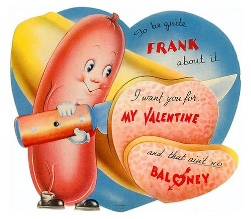 Valentine Hot dog