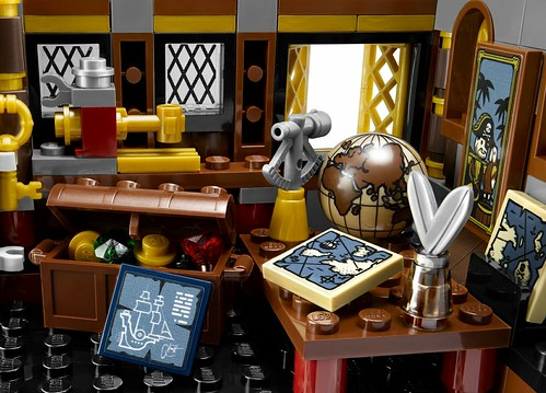 The LEGO Movie 70810 MetalBeard's Sea Cow features 7