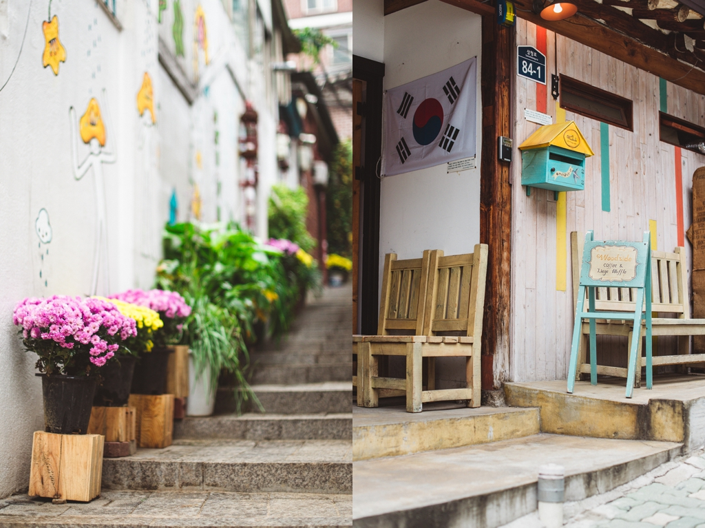 Insadong cafes