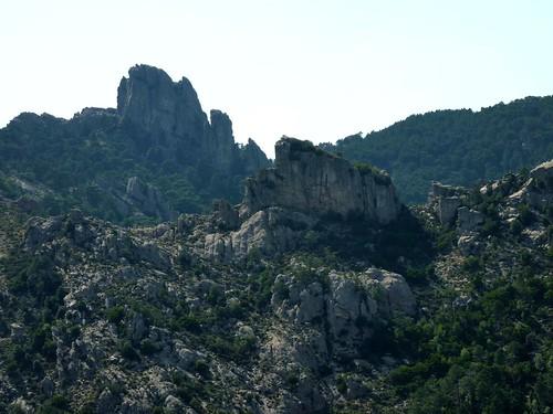 Trace de Quarcitellu : le Castellucciu vers l'Ouest