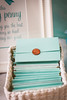Tiffany blue and bows baby shower from fineprints on etsy
