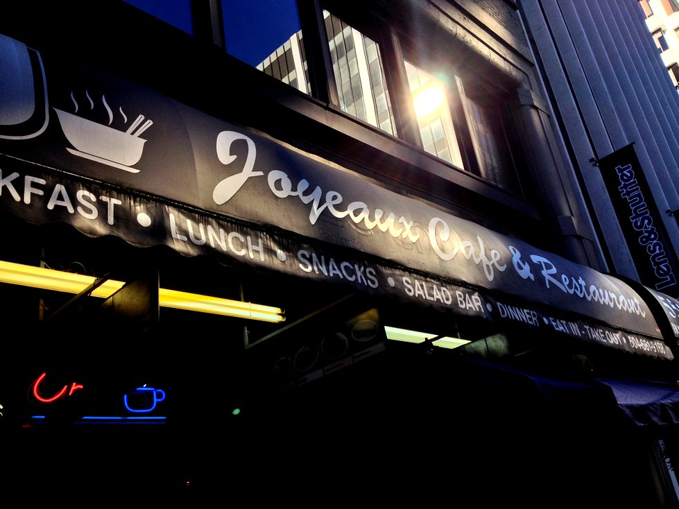 joyeaux cafe vancouver Downtown Pho Howe Street