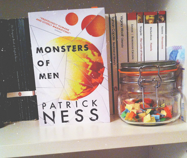 monsters of men patrick ness book review uk lifestyle blog
