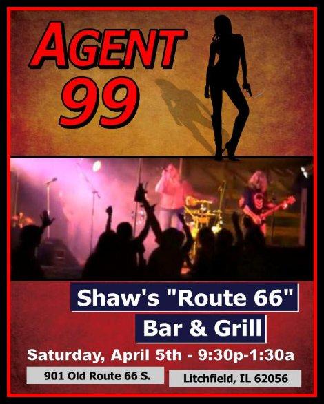 Agent 99, 4-5-14