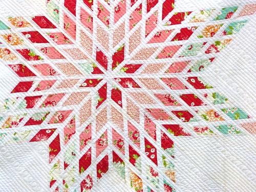 exploding star quilt