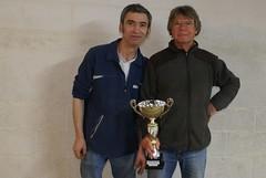 29/03/2014 - Taulé : Les finalistes du concours de boules plombées en doublettes formées