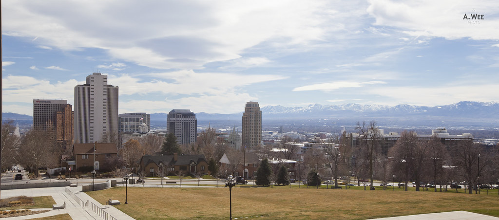 Panorama of Downtown SLC
