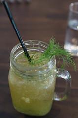 Apple Fennel Mocktail