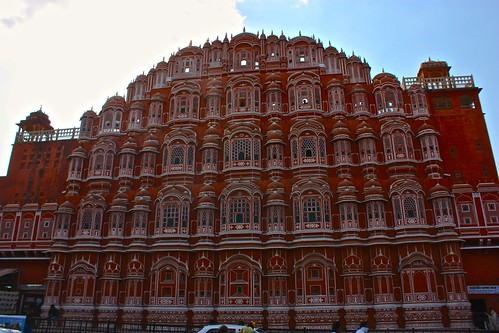 Hawa Mahal, palace of wind