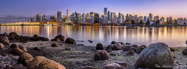 Vancouver at Coal Harbour