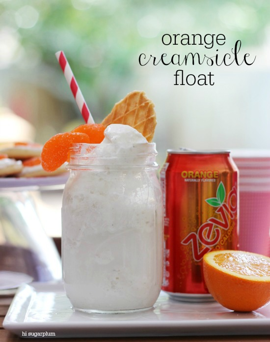 Hi Sugarplum | Orange Creamsicle Float Party