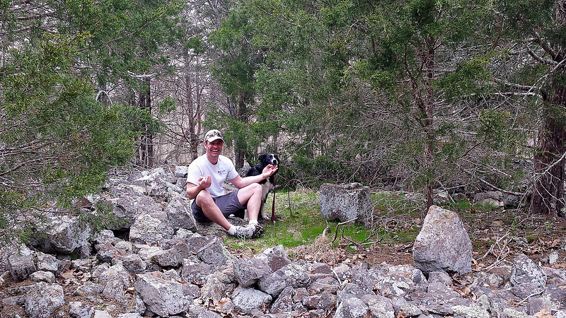 Local Treks: Me in rock pile
