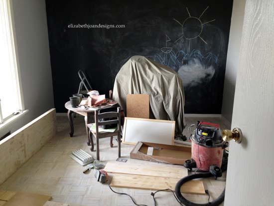Painted Parquet Floors 2
