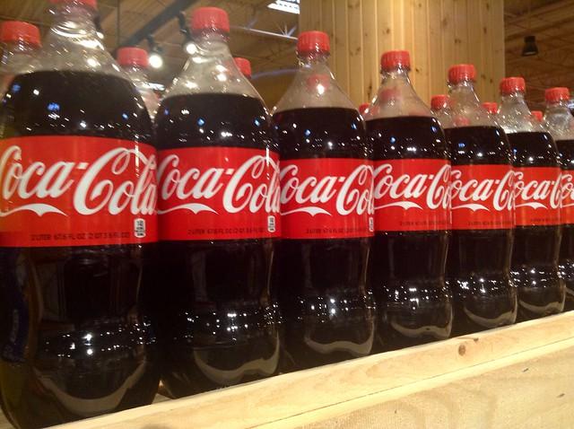 Coca Cola 2 Liter Bottles
