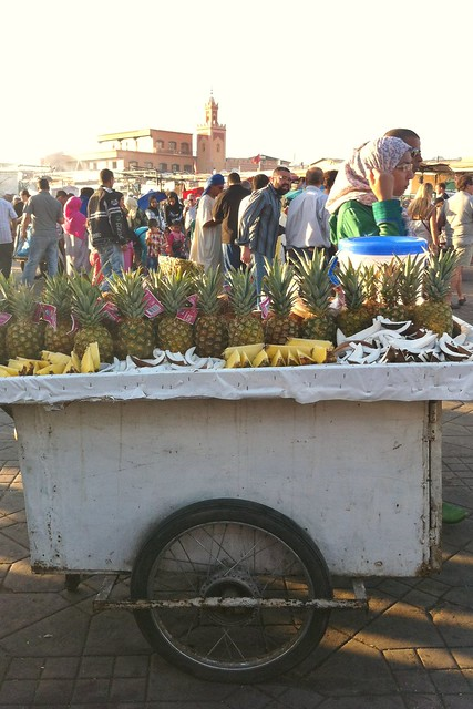 ananas jemaa el fna