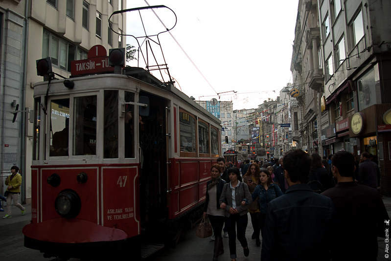 Istanbul in May day 1