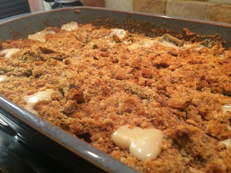 Quick Chicken Bake : Golden and crispy