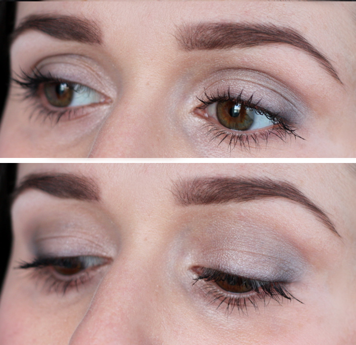 soft grey eye make up tutorial