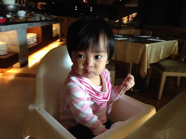 吃早餐!@日月潭大飯店