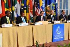 Deputy Secretary of State Antony Blinken hosts a Climate Change working breakfast during the Caribbean Energy Security Summit at the U.S. Department of State in Washington, D.C., on January 26, 2015. [State Department photo/ Public Domain]