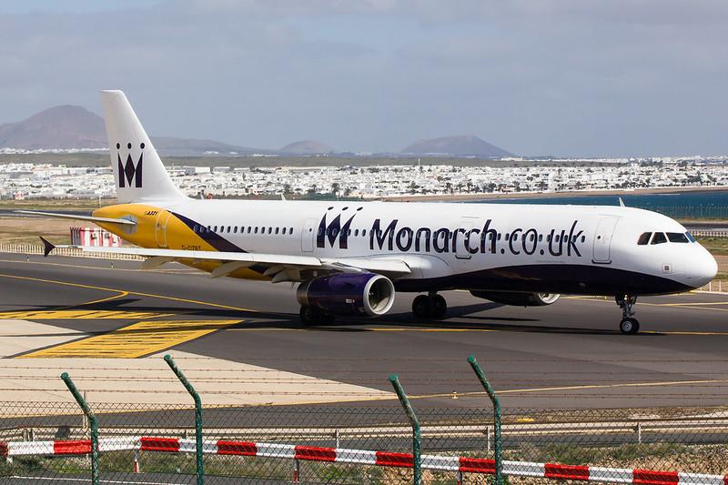 Monarch - A321 - G-OZBT (2)