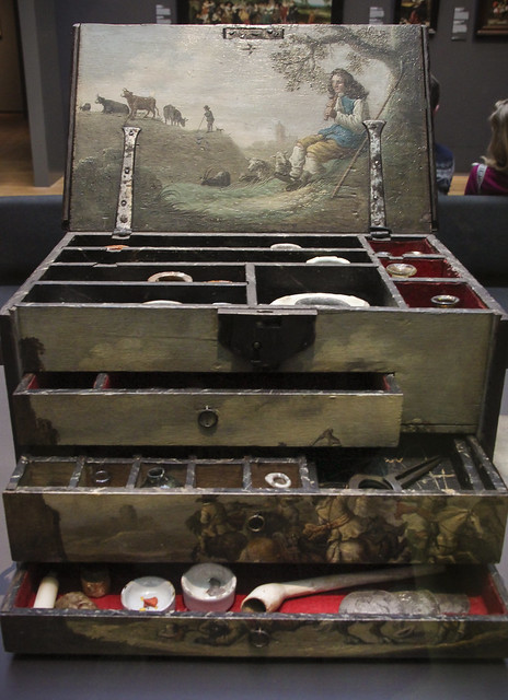 Artist's paint box, The Netherlands, c.1640-1660