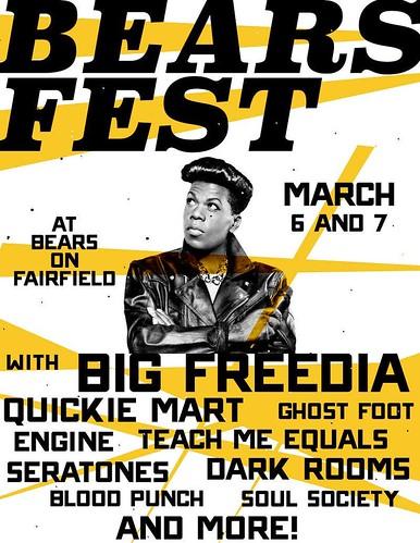 Bears Fest, Mar 6 & 7