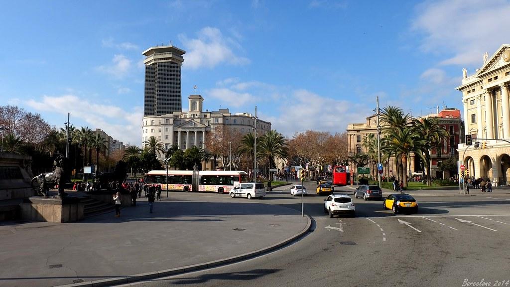 Barcelona day_4, Passeig de Colom