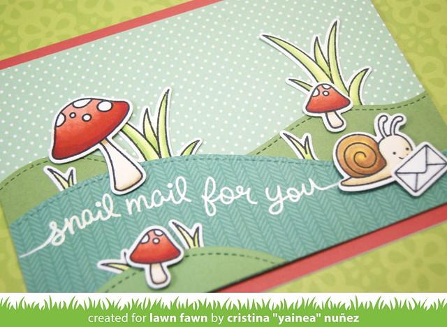 Snail mail - detail