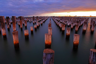 Princes Pier Sunset