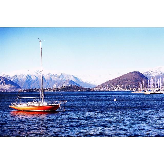 Lago maggiore #italy #milano #daytripfrommilan #film #leica #fujifilm400
