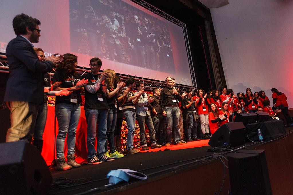 TEDxOporto 2014 Palco Organização