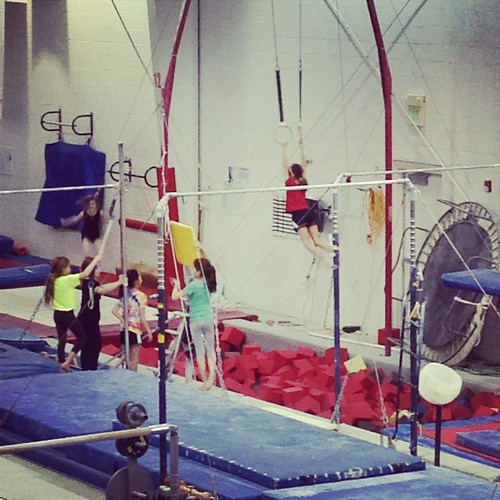 Tumbling and working the rings